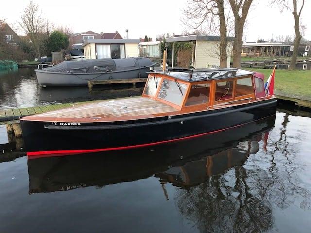 Autoboot 720 Elektro aandrijving